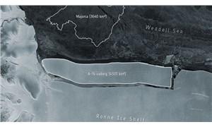Dünyanın en büyük buzdağı koptu