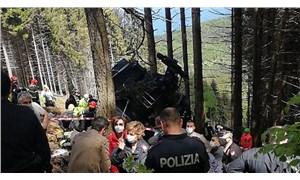 İtalya'da teleferik kazası: 13 ölü