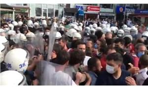 Kota ve kontenjanın kaldırılmasını isteyen çay üreticilerine polis müdahalesi