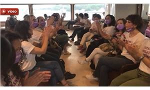 KESK Kadın Meclisi İstanbul Sözleşmesi için eylemde: Fesih kararını kabul etmiyoruz