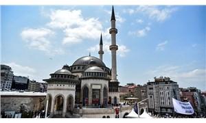 Taksim Meydanı'ndaki cami açıldı
