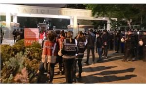 Boğaziçi öğrencileri çadır nöbeti başlattı: Güney Kampüs kapısında polis ablukası