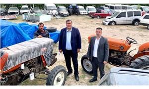 Tarlada olması gereken traktörler satış bekliyor: Yediemin Depoları icralık araçlarla doldu!