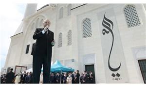 Erdoğan cami açılışında seçim konuşması yaptı
