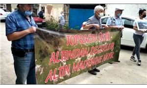 SOL Parti, siyanürlü altın arasına karşı Sarımeşe köylüleriyle dayanışmada