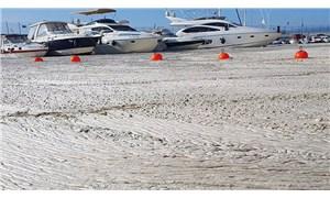 """Deniz salyası git gide artıyor: """"Bütün marina betonla kaplı gibiydi"""""""