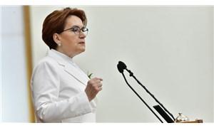 Akşener: AK Parti için küçük, milletimiz için büyük bir yolsuzluktan bahsetmek istiyorum
