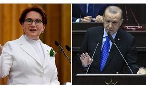 """Akşener'den, """"Millet açsa doyuruverin"""" diyen Erdoğan'a yanıt"""