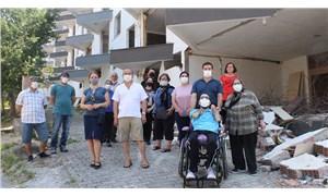 Kuşadası'nda depremzedeler ortada kaldı: Deprem emeklilik hayallerini bitirdi