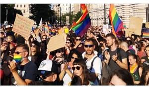 Budapeşte sağcı hükümete karşı rengarenk
