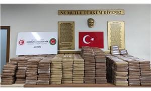 Mersin Limanı'nda Ekvador'dan gelen 1 ton 150 kilo kokain ele geçirildi
