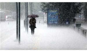 Meteoroloji'den İstanbul ve Trakya için sağanak uyarısı