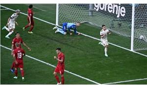 Nefes kesen maçı Belçika kazandı, Christian Eriksen unutulmadı