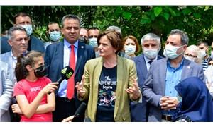 Kaftancıoğlu'ndan Esenler Belediyesi'nin yıkmak istediği parka ziyaret