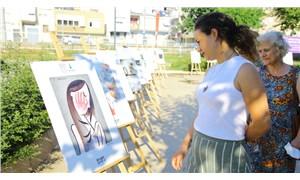 Efes Selçuk'ta toplumsal cinsiyet eşitliği karikatür sergisi