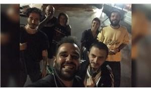 Müzik yasağını protesto eden sanatçı Ağaçkakan ve 6 kişi gözaltına alındı
