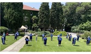 Boğaziçi Üniversitesi'nde akademisyenler 117'nci kez rektörlük binasına sırtını döndü
