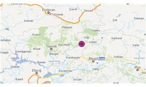 Bingöl'de 5,2 büyüklüğünde deprem