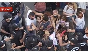 Ankara'daki Onur Yürüyüşü'ne polis müdahalesi: Tepki gösteren yurttaşlar da gözaltına alındı