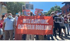 """Gazeteciler üç ilde sokağa çıktı: """"Gazeteciliği boğamayacaksınız"""""""