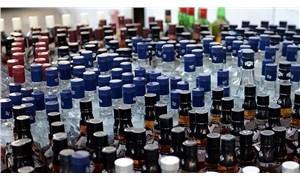 Bursa'da bir evde bin litre sahte içki ele geçirildi