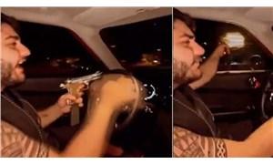 Murat Övüç'ün oğlu araba sürerken rastgele ateş açtı