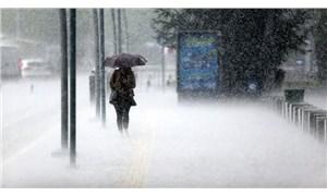 Meteoroloji, bazı bölgeler için sağanak uyarısında bulundu