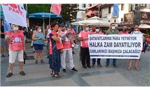 SOL Parti Antalya: Şatafatlarına para yetmiyor, halka zam dayatılıyor