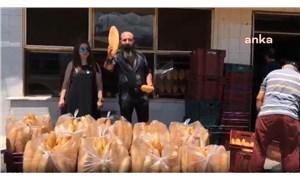 """Pademide dükkanını açamayan işletme sahibinden """"kimse ekmeğe muhtaç olmasın"""" kampanyası"""