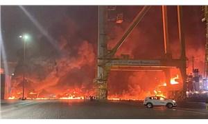 Dubai'deki Cebel Ali Limanı'nda patlama