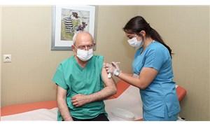 Kılıçdaroğlu 3. doz koronavirüs aşısını yaptırdı