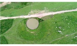 Devlet izniyle talanda son manzara: Define için yok edilen 12 bin yıllık Dipsiz Göl, 'çamur göl' oldu