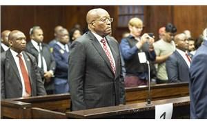 Jacop Zuma mahkemeye itaatsizlikten cezaevinde