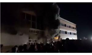 Irak'ın güneyinde Covid-19 hastalarının yattığı hastanede yangın çıktı