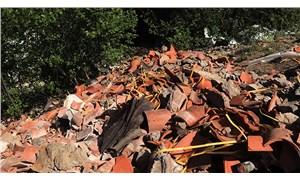 Sümela'nın restorasyon atıklarını dereye döktüler