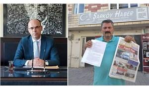 Kaymakam başvurdu, gazeteciye 6284 sayılı Kadına Şiddetin Önlenmesi Kanunundan uzaklaştırma verildi