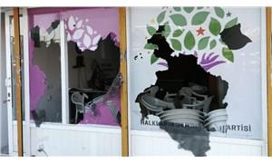 Marmaris'te HDP binasına silahlı saldırı