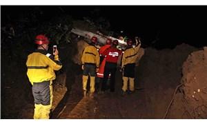 Rize'de sağanak sel ve heyelana neden oldu: 1 ölü, 3 kayıp