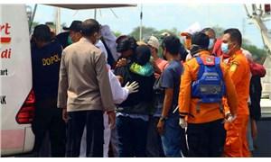 Edonezya'da birçok balıkçı teknesi alabora oldu:9 ölü