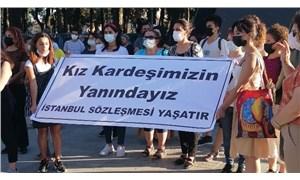 Kadınlar, Ayşegül için sokağa çıktı: İstanbul Sözleşmesi'nin feshi iptal edilmeli