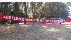 İkizköy halkının doğa nöbeti, bayramda da devam ediyor