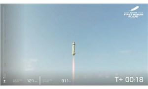 Jeff Bezos ve beraberindeki mürettebat uzaya gidip döndü