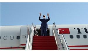 Külliye 'müjde'si için Kuzey Kıbrıs'a giden Erdoğan, Türkiye'ye döndü