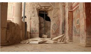Zeugma Antik Kenti'nde ikikaya odası gün yüzüne çıkarıldı