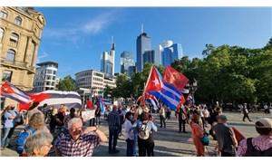 Küba'ya Amerikan ambargosu,Almanya'da da protesto edildi