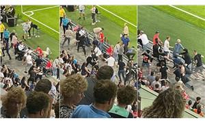 PSV-Galatasaray maçının devre arasında gerginlik