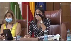 VİDEO | Parlamentoya fare girdi, oturum yarıda kesildi