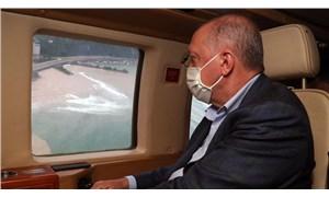 Erdoğan sel mağdurlarına konuştu: Felaket, bir imtihandır; ona sabretmek de ayrı bir imtihandır