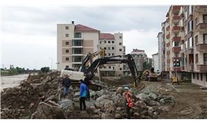 Sel felaketinin ardından: Arhavi'de hasar tespit ve temizlik çalışmaları sürüyor