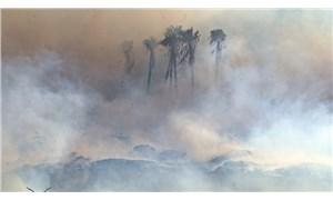 Antalya'da yangın: Göz gözü görmez oldu